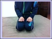 【オスグッド、膝痛-福岡市-整体】・・・福岡市中央区赤坂の患者さま/六本松の口コミ人気の整体院