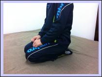 【膝痛、スグッド病-福岡市研究所】・・・福岡市中央区六本松のおすすめ整体院/赤坂の患者さん。