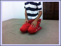 オスグッド病、膝痛・・・福岡市中央区赤坂の患者さん/六本松の口コミ人気のおすすめ整体。