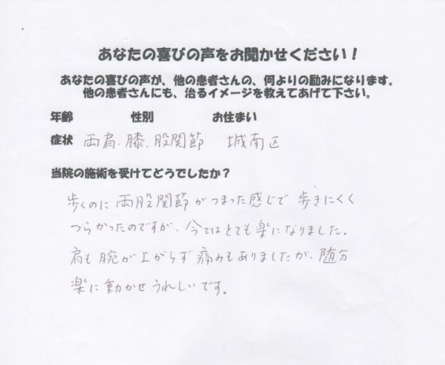 【肩、肩甲骨、背中の痛み】・・・六本松の整体-口コミ体験談(人気ランキングで評判)