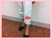 【膝痛-福岡整体】、膝の痛み、福岡市中央区草香江の患者さま。