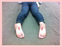 福岡市早良区西新の患者さん/福岡整体・・・腰痛、膝痛、オスグッド、オスグット
